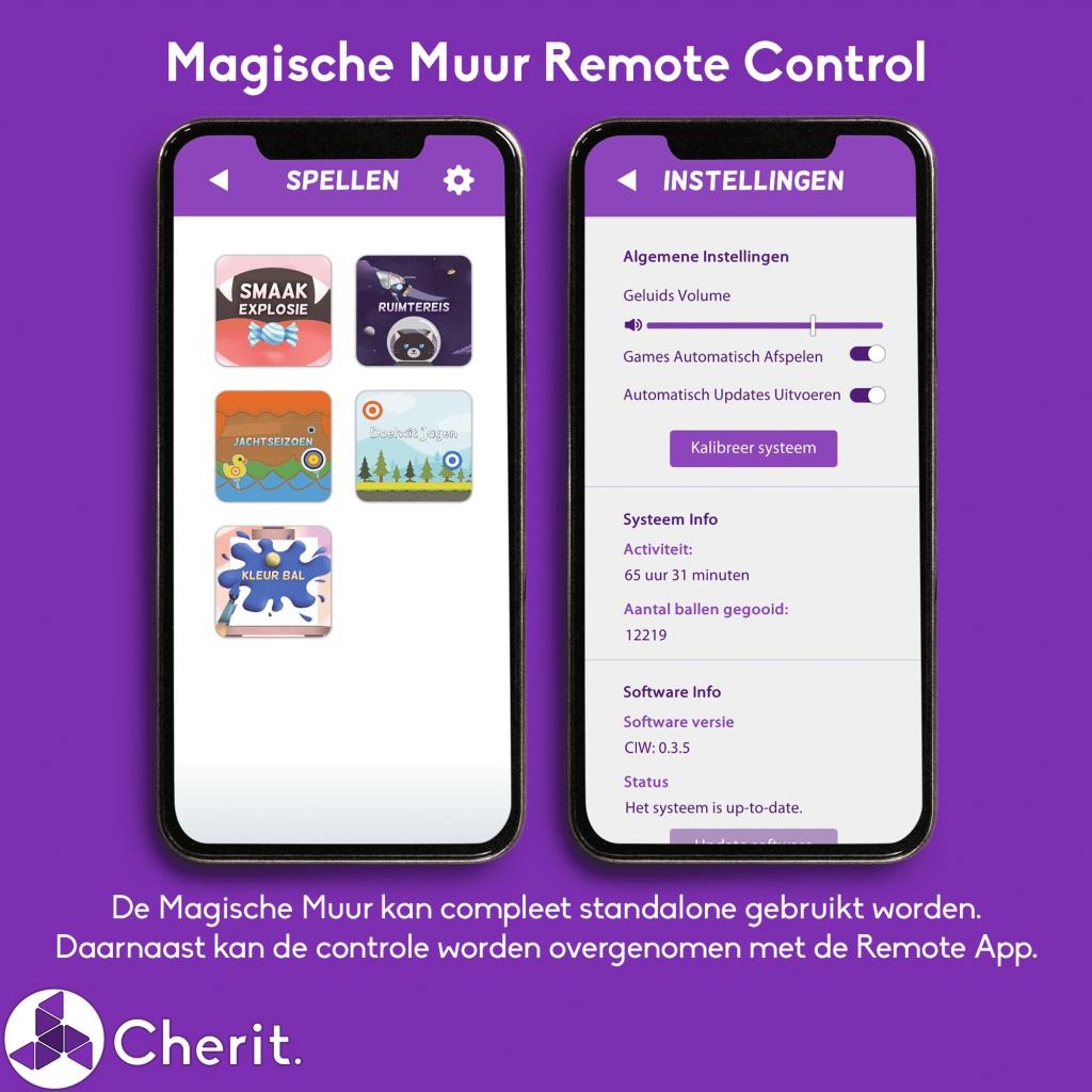 Cherit Magische Muur Remote
